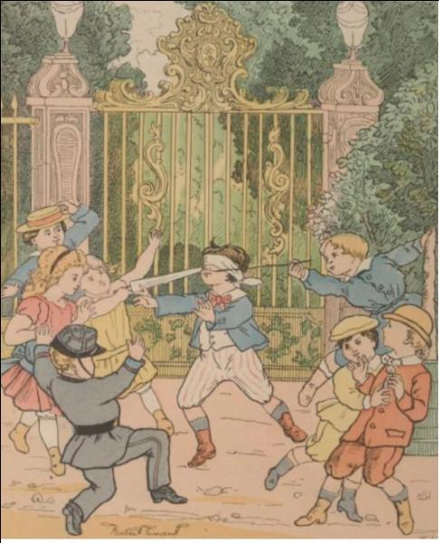 Jean Colin a été au Xe siècle un gigantesque guerrier du pays de Liège armé d'un maillet. Privé de la vue, lors d'un combat il défendit son pays et fût anobli par le Roi Robert qui accola à son nom celui de Maillard. Son nom aurait inspiré la création du jeu de colin-maillard. Vraie ou fausse cette légende ?