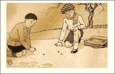 Certains situent l'origine des billes soixante siècles en arrière. La bille la plus âgée du monde a été trouvée dans le tombeau d'un enfant et serait exposée au musée d'Oxford en Angleterre. Dans quel pays a-t-elle été découverte ?