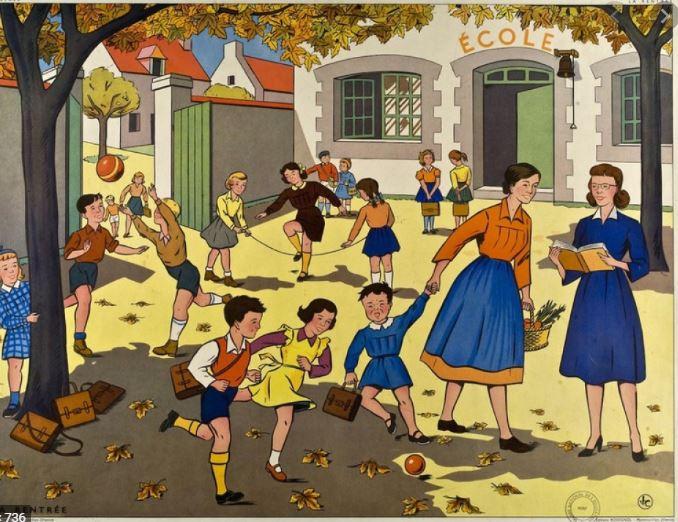 Jeux d'hier et d'aujourd'hui à l'école et dans la rue