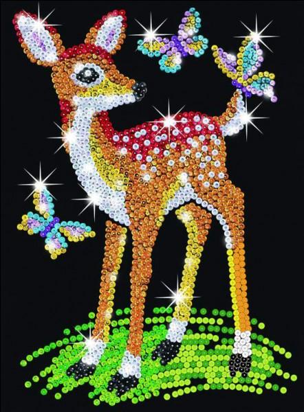 Quel est le nom de la biche aux yeux bleus dont Bambi tombe amoureux ?