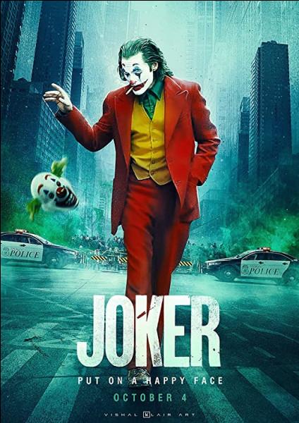 """Qui est le réalisateur du film """"Joker"""", sorti en 2019 ?"""