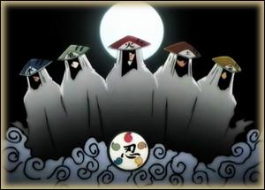 Lequel des cinq grands villages cachés a eu le moins de kages durant Naruto jusqu'à Shippûden ?