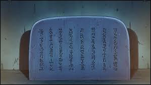 Qui a modifié le message de la stèle laissé par Hagoromo Otsutsuki ?