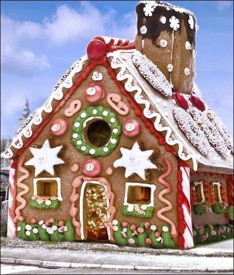 Dans quel conte des frères Grimm est-il question d'une maison en pain d'épices ?