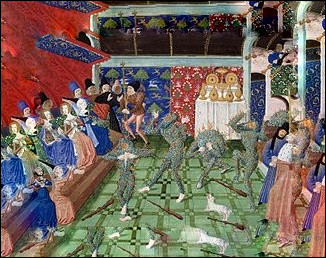 """En histoire, quel événement appelle-t-on le """"Bal des ardents"""" qui s'est déroulé à l'hôtel St-Pol en janvier 1393 ?"""