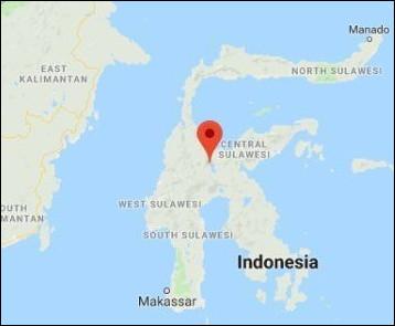 Quel détroit se trouve entre les Célèbes et Bornéo ?