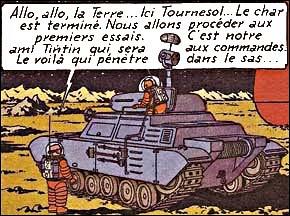 Un quart de siècle avant l'histoire, Tournesol avait inventé le char lunaire : mais dans la réalité, qui a envoyé le 1er véhicule robotisé sur la lune et comment s'appelait-il ?