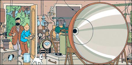 Nous apercevons au 1er plan un appareil extrêmement dangereux conçu par le savant belge : à quoi sert-il ?