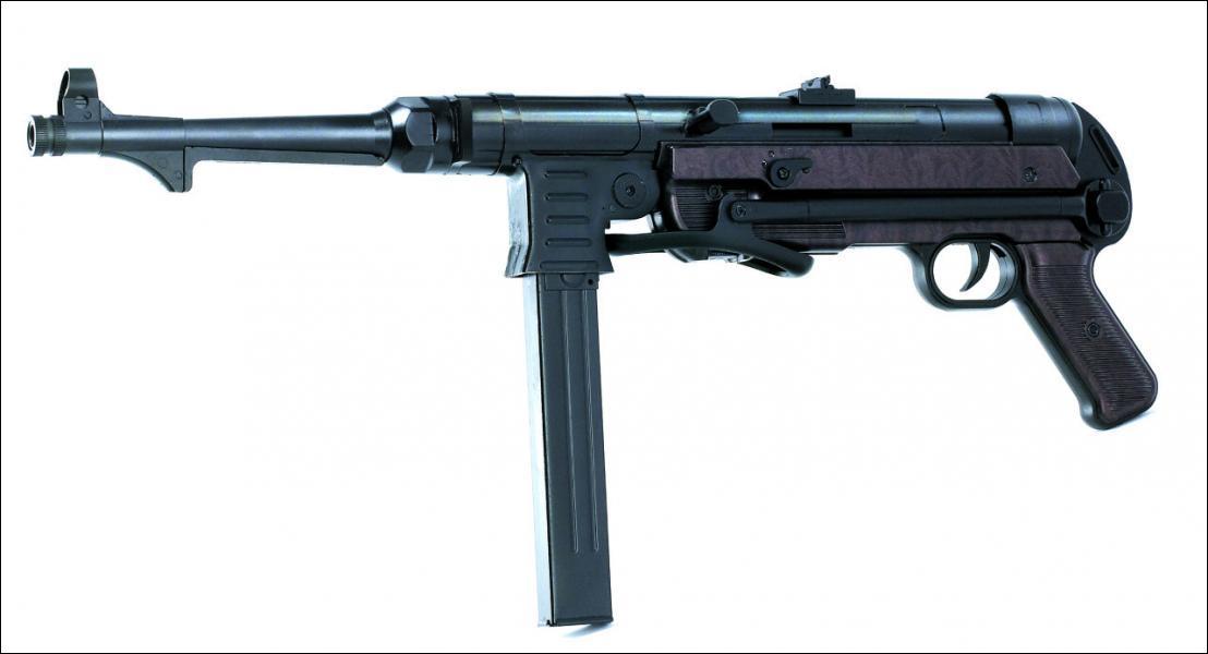 Cette arme allemande est trés enviée par les collectioneurs... mais quel est son nom ?