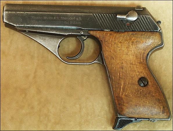 Quel est le nom de cette arme de poing ?