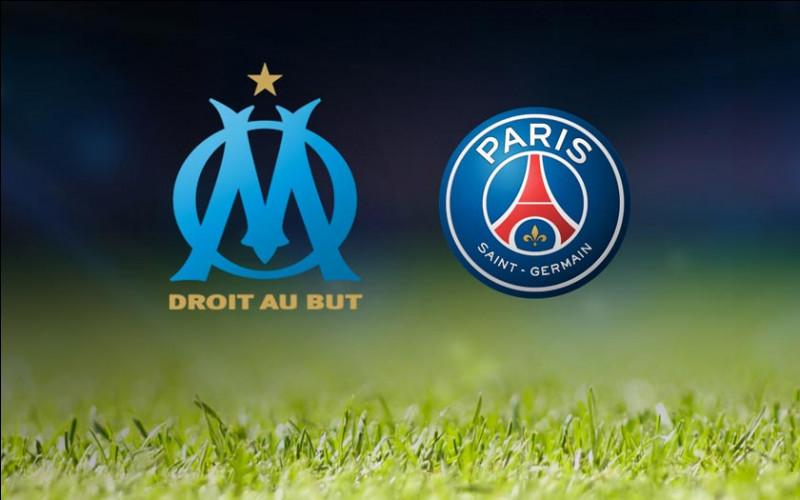Qui a gagné le match de foot de 2020 entre l'OM et le PSG ?