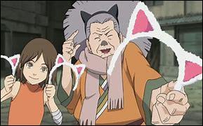 Dans quel célèbre animé figurent Nekobaa et Tamaki, deux fans de chats ?