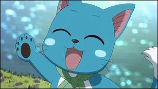Qui est ce chat bleu possédant les dons de parler et de voler ?