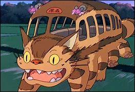 Dans quel film Ghibli apparaît le chat-bus ?