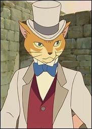 """Encore dans un film Ghibli (promis c'est le dernier), dans le film """"Si tu tends l'oreille"""", comment s'appelle la statue de chat qui se trouve dans la boutique de Shinji Nishi ?"""
