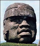 Quel est le nom de ce peuple ancien du golfe du Mexique dont la civilisation s'épanouit de 1000 à 300 avant J.-C. ?