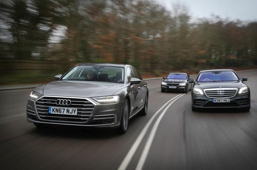 Audi vs BMW vs Mercedes-Benz