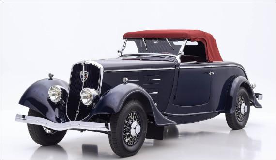 Il y a un fait que je voudrais souligner sur la marque au Lion, c'est que cette automobile de luxe a attendu 40 ans pour qu'un autre modèle de la marque soit équipé d'un moteur V6. Pouvez-vous me nommer cette voiture ?