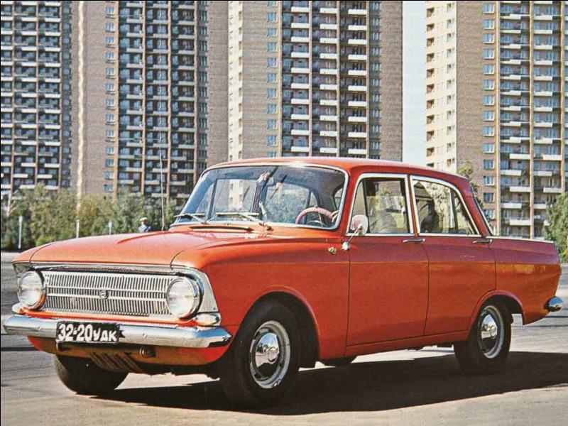 Ah, l'URSS ! De splendides voitures à la longévité folle et qui ont une fiabilité bien hasardeuse. Voici une automobile venue de l'Est, comment s'appelle-t-elle ?