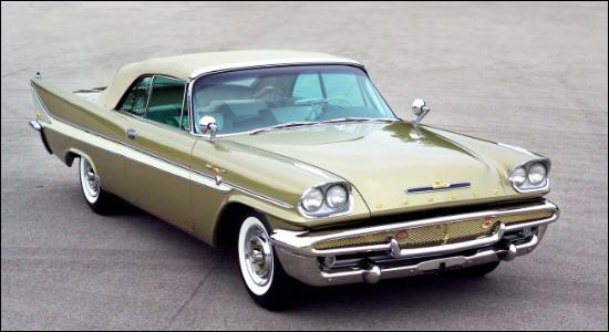 Cette automobile étatsunienne est semblable à une certaine Chrysler 300. Je vous donne deux autres indices qui sont : Bob Morane et Indochine, à vous de lier toutes ces informations afin de trouver le nom de cette voiture.