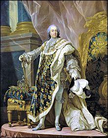 Louis XV était-il le petit-fils de Louis XiV ?