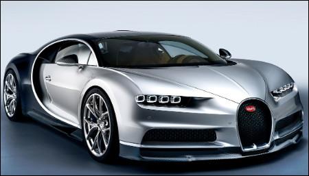 Ce modèle Bugatti est-il une Chiron ?