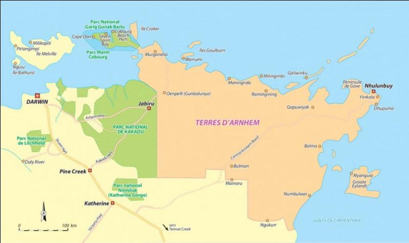 Dans quel pays se situe la Terre d'Arnhem ?