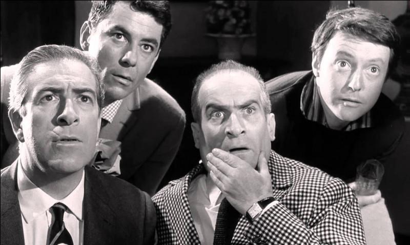 """Louis de Funès doit attendre les années 60 pour connaitre la consécration avec la série des """"Gendarmes"""". Dans quel film a-t-il tenu auparavant le premier rôle ?"""