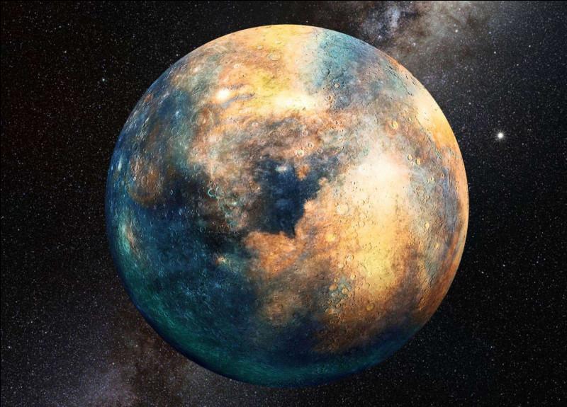 Quelle planète se trouvant proche de la Terre a un anneau autour d'elle ?