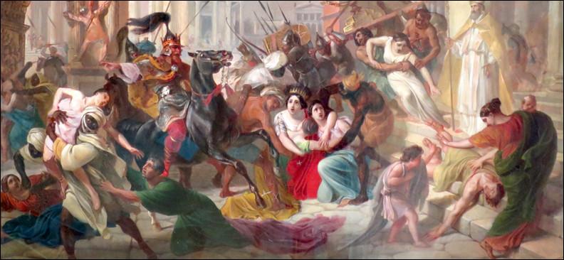 En quelle année l'Empire romain d'Occident s'est-il effondré ?