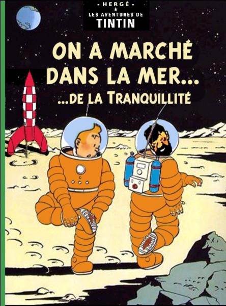 Pour changer un peu... Quel est le seul élément de cette couverture n'appartenant pas au monde habituel de Tintin ?
