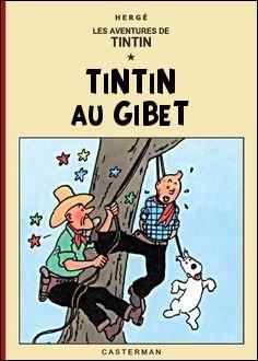 D'après cette couverture, quelle(s) lettre(s) faudrait-il changer pour retrouver le titre d'un album de Tintin ?