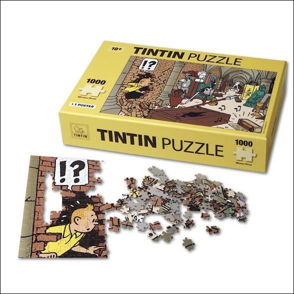 De quel album de Tintin ce puzzle a-t-il été tiré ?