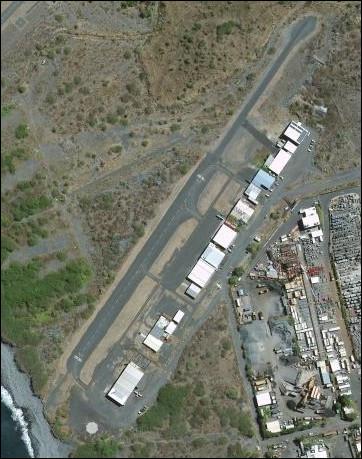 Dernière question : dans quelle ville de La Réunion se situe cet aérodrome ?