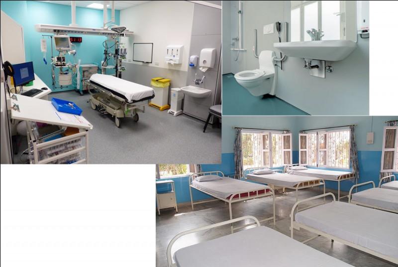 En cas de problème lié à la santé, les personnes exerçant dans la base peuvent s'y rendre. De même, les visites médicales se pratiquent ici. La responsable est une infirmière. Ceci est donc...