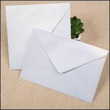 Qu'est-ce qu'une lettre blanche ?