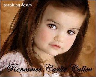 Dans quel livre Renesmée Carlie Cullen naît -elle ? ( Révélation )