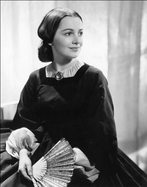 """Cette actrice américaine, qui a joué dans """"Les Aventures de Robin des Bois"""", """"Autant en emporte le vent"""", """"La Charge fantastique"""", se prénomme ..."""