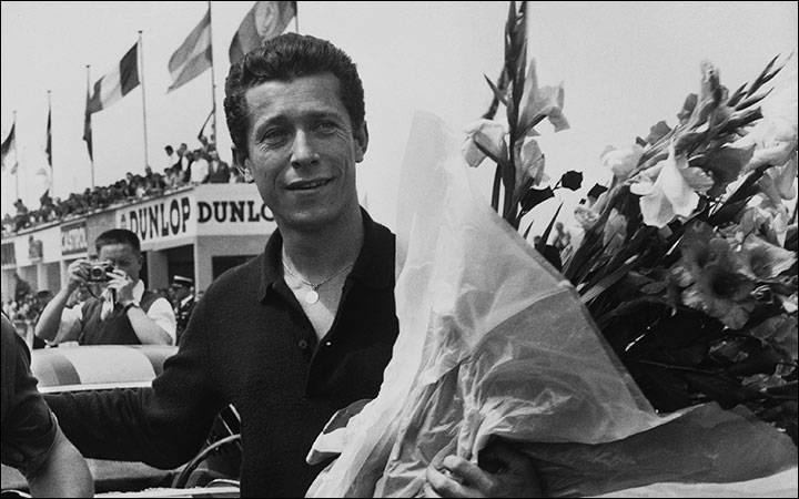 Ce pilote automobile belge, quatre fois vainqueur des 24 heures du Mans entre 1958 et 1962, c'est ... Gendebien