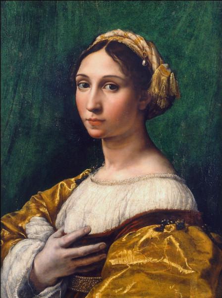 """Quel peintre italien de la Renaissance a peint le tableau """"Portrait d'une jeune fille"""" ?"""