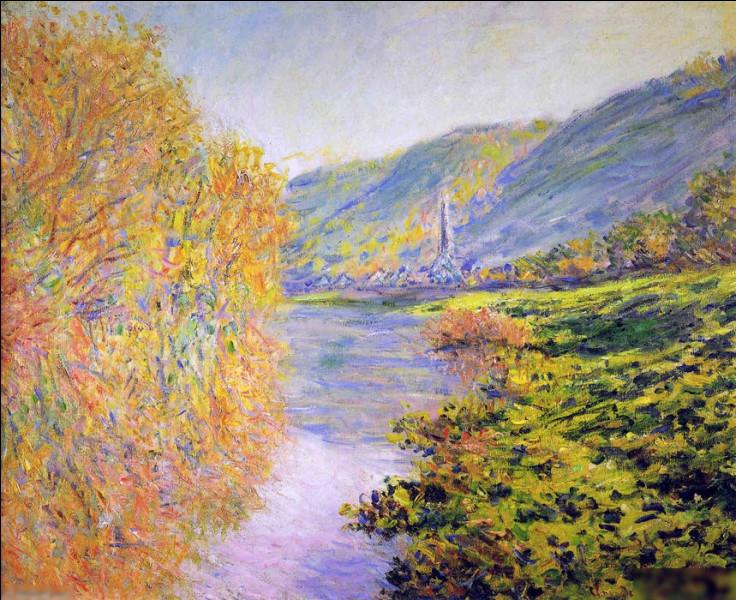 """Qui a peint """"Rives de la Seine à Jeufosse, automne"""" ?"""