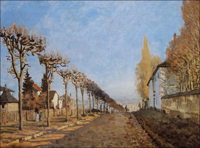"""Quel peintre est l'auteur du tableau """"Le Chemin de la Machine"""" ?"""