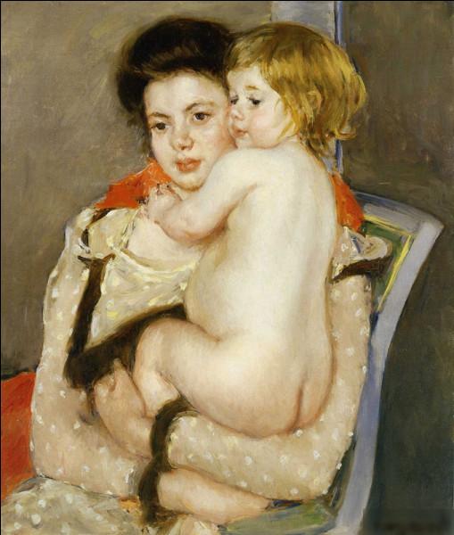 """Qui a peint """"Reine Lefebvre tenant un bébé"""" ?"""