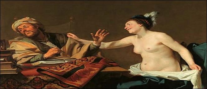 Il a acheté ce tableau d'un grand maître de l'art flamand, à ... d'or.