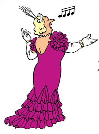 Quel est le prénom de la cantatrice italienne Castafiore ?