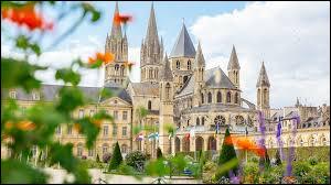 Dans quel département se situe la ville de Caen ?