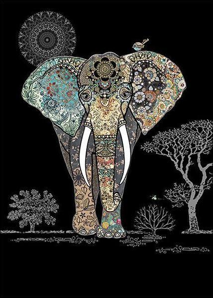 En plus de leurs deux défenses qui sont considérées comme des incisives, combien les éléphants ont-ils de dents ?