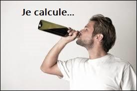 Quelle quantité de vin reste-t-il dans une bouteille de 75 cl aux deux tiers vides ?