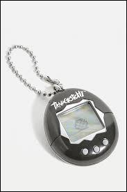 Ce petit objet rond était une sorte de console sur laquelle l'enfant s'occupait d'un animal virtuel. De quoi s'agit-il ?