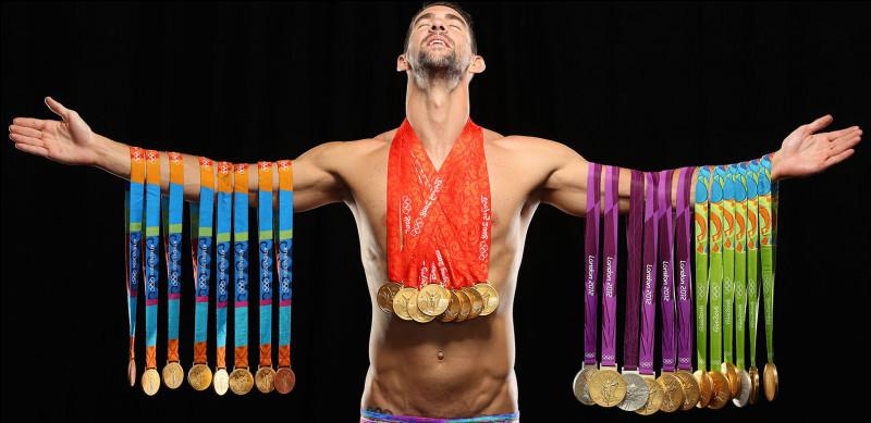 Dans quel sport l'Américain Michael Phelps s'illustre-t-il ?